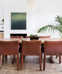 Leather Dining Room Chairs by 108 Best Leather Dining Chairs Images On Pinterest Leather