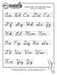 Free Printable Music Worksheets Practice Penmanship U2013 Free Abc U0027s Printable Cursive Writing