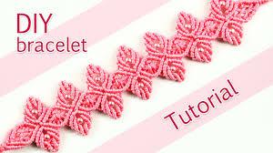 macrame flower bracelet images Macram flower petal bracelet tutorial jpg
