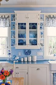 Blue Kitchens With White Cabinets Best 25 Blue White Kitchens Ideas On Pinterest Blue Country
