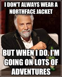 North Face Jacket Meme - it sucks to bu 34 things only boston college students can really