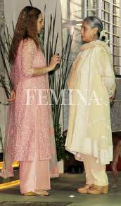 amitabh and jaya at hema malini u0027s birthday celebrations femina in
