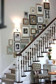 Staircase Wall Ideas Staircase Wall Decor Ideas Decorating Stair Walls Best Stairway