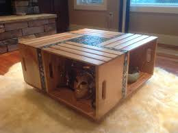diy coffee table a new spin on the crate coffee table with