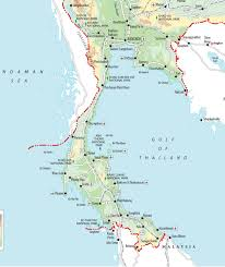 Best Map The Best Thailand Islands Best Thai Islands Rough Guides