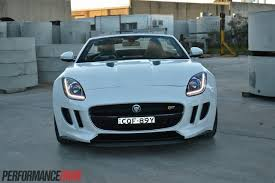 jaguar f type custom 2014 jaguar f type v6 s review video performancedrive