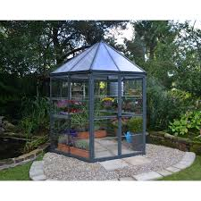 Greenhouse Gazebo Palram Snap U0026 Grow 6 X 8 Ft Greenhouse Hayneedle