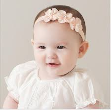 band baby 2017 new baby floral pearl hair band infant photography props