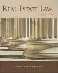 amazon com real estate law 7th edition real estate law karp