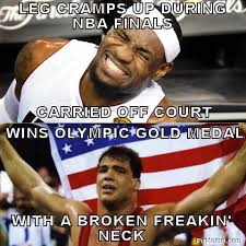 Midol Meme - since lebron james is a sore loser here are 18 of his best cring
