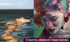 themed artwork 25 best and beautiful underwater paintings for your inspiration