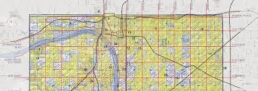 map of tulsa overlaid map modern tulsa original creek allotments tulsa