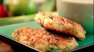 cuisiner mais galettes de maïs sauce au yaourt selon gordon ramsay recettes à