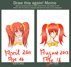 draw this again motivation level up by moechiisanakoe on deviantart