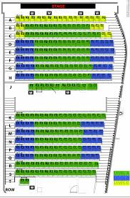 Umkc Campus Map Seating Charts Kansas City Repertory Theatre