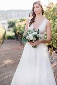 Rita Vinieris Wedding Dresses Designer by Wedding Gown By Rita Vinieris Bouquet Arrangement Soft Blush