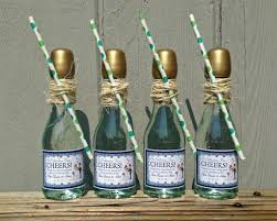 wine bottle favors mini chagne bottles wedding favors wedding favors personalized