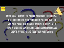 how do you make the color royal blue youtube