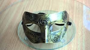 men masquerade mask mask men mask gladiator masquerade mask gold