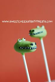 34 best animal alligator cakepops images on pinterest cake pop