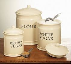 kitchen flour canisters kitchen storage canisters homes and garden journal