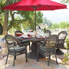 Artificial Wicker Patio Furniture - sunset pier gray dining chair pier 1 imports