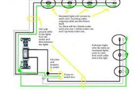 wiring diagrams for recessed lighting parallel connection wiring