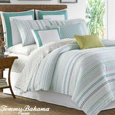 Blue Striped Comforter Set Coastal Bedding Comforters Quilts Bedspreads Touch Of Class