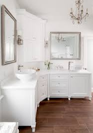 toronto corner bathroom cabinet victorian with snowfall white by