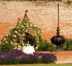 the walled garden at cowdray country wedding venues