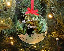 Baby S First Christmas Bauble Glass by Christmas Bauble Etsy
