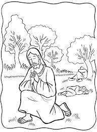 jesus praying in the garden of gethsemane clipart clipartxtras