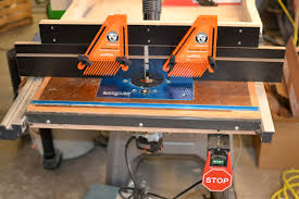 table saw router table shop made tools router table fence on tool box buzz tool box buzz