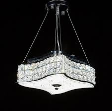 Crystal Flush Mount Ceiling Light Fixture by New Galaxy Modern Led Crystal Chandelier Pendant Hanging Or Flush