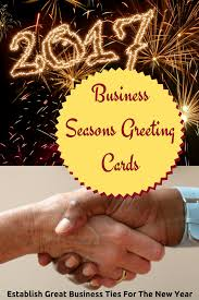 new year s greeting card business season greetings cards for a professional start to a new year