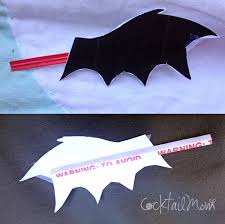 cocktailmom halloween bat craft for kids
