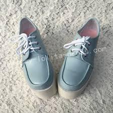 Sweet Light Sweet Light Blue High Platform Sweet Shoes My