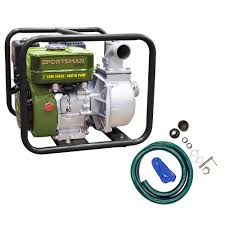 champion power equipment 1 in gas powered water transfer pump