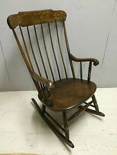 Rocking Chair Antique Styles Maple Rocking Chairs Antique Furniture Ebay