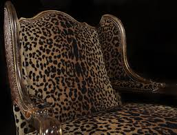 love my leopard chair high furniture