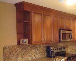 Kitchen Cabinet Shelves by Beautiful Kitchen Wall Cabinet End Shelf Design Home Design
