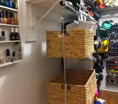 Closet Bins by Diy Swingy Closet Bins