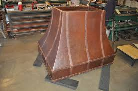 Range Hood Vents The Texas Rustic Copper Range Hood Hand Crafted