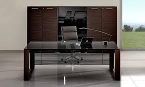 bureaux verre selection de bureau en verre noir