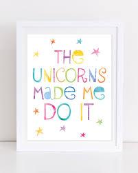 unicorn print printable wall art unicorn printable the unicorns