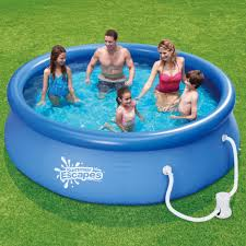 banzai aqua drench 3 in 1 inflatable splash park walmart com