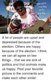 Depressed Pug Meme - ou ain a nuthin pug dog the amazin gleo a lot of people are upset