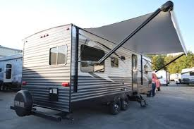 Electric Awning 2015 Skyline Layton 268re Rear Entertainment Big Slide Lightweight