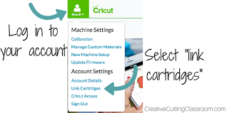 Link Gypsy To Cricut Craft Room - how to link cricut cartridges to your explore u2014 creative cutting