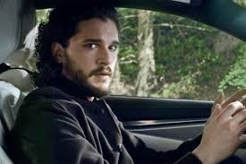 ford commercial actor game of thrones u0027 actor kit harington gets totally dramatic while